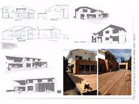 Architecture Design, Planning Drawings, Extension, Loft Conversion, CAD,DWG, Revit BIM Specialist