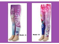 Disney Frozen Girls Legging Fleece Lined Tights