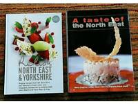 Two great books. Relish North East and Yorkshire and A Taste of the North East