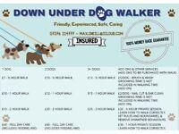 Down Under Dog Walker - Affordable, Professional, Caring, Insured