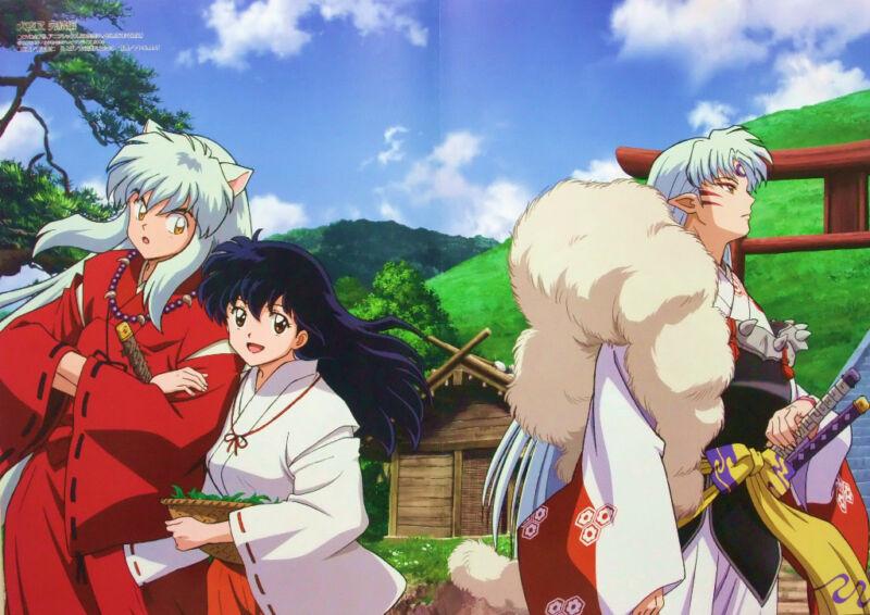 INUYASHA / Sister Princess poster promo anime girl official seshomaru inu yasha