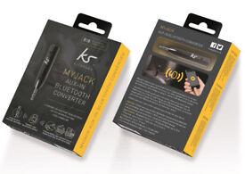 Brand New Kitsound MyJack AUX-in Bluetooth Converter RRP £24