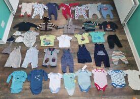 Huge boys clothes bundle aged 3-6 months