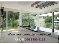 LOFT CONVERSION & KITCHEN EXTENSION BUILDERS, roofing, front drive , basements, planning, PAINTING