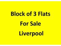 For Sale - Block of 3 Flats - Liverpool L6