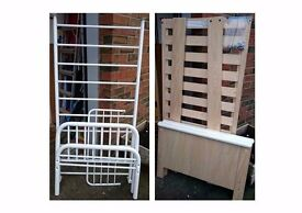 Toddler Beds Simple Metal or Quality Beech Wood