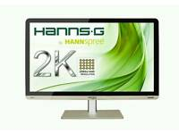 "Hannspree HQ271HPG 27"" IPS LED 2560 X 1440"