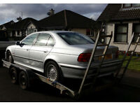 BMW 523i 525i AUTO breaking for parts