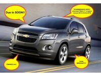 LOW mileage/12mth Warranty/FDSH chevrolet TRAX LT 1.6 petrol manual 2013 (13) ALLOYS
