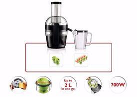 Philips HR1857/71 Viva Collection Quick Clean Juicer - Black