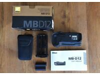 Nikon MB-D12 Battery Pack for Nikon D800- D810 Cameras