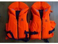 2 Marinepool foam lifejackets Medium