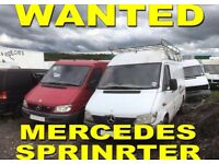 Mercedes Sprinter Wanted { WE BUY YOUR SPRINTER ANY CONDITION !!! }