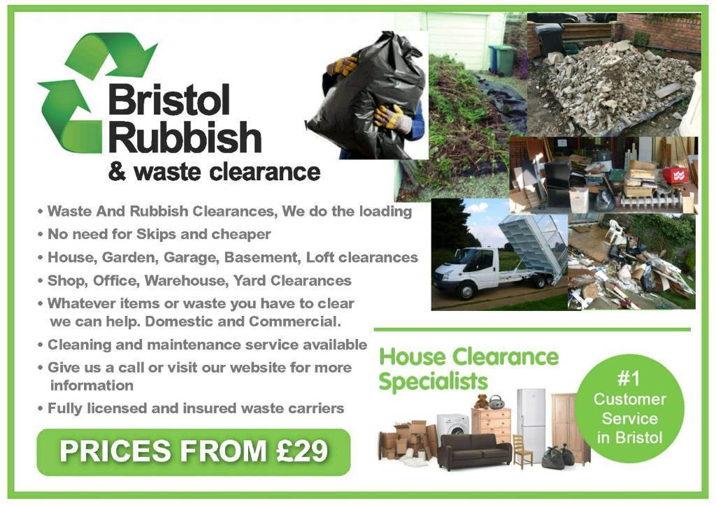 Waste Clearance Bristol Rubbish House Office
