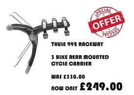 THULE Raceway 3 bike rear mounted cycle carrier