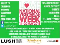 National Vegetarian Week at The Arches Project