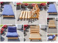 Single Futon Sofa Chair/Bed