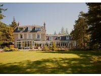 General Assistant for Small Family Run Hotel in Ballater