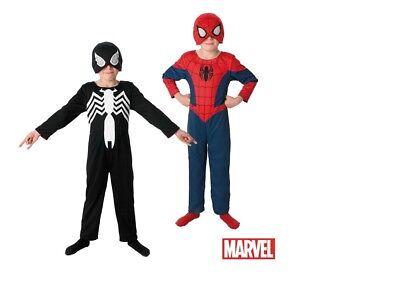 Rubies 2in1 Ultimate Spiderman Kinder Kostüm Fasching Karneval Spider Man S/M/L