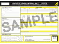 No nonsense gas safety certificates. (Landlord certificates)