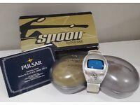 Vintage Spoon watch by Pulsar Circa 2000