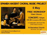 SPANISH ANCIENT CHORAL MUSIC PROJECT