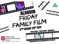 Friday Family Film: Disney's Aladdin
