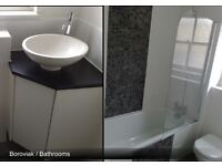 Bathroom Kitchen Installations Fitting Tiling Electric Plumbing Plastering in Medway Gillingham