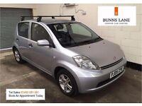 Daihatsu Sirion SE 1.0 Fsh £20 a year tax 50+MPG Air Con Alloys Parking sensora 3 Month warranty