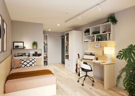 STUDENT ROOM TO RENT IN GLASGOW. PREMIUM STUDIO WITH PRIVATE ROOM, BATHROOM AND PRIVATE KITCHEN