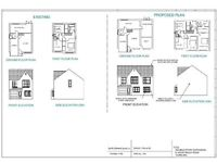 Low price Architect services. Extension drawings/planning permission drawings