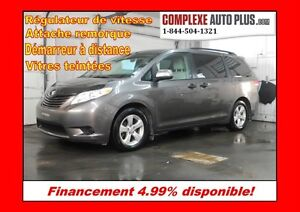 2012 Toyota Sienna V6 7 passagers *Vitres teintées, Mags