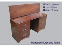 Mahogany Dressing Table