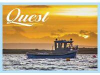 Fishing Boat / Pleasure Craft 24ft inboard engine cuddy cabin rebuild project