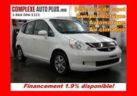 2008 Honda Fit LX *Cruise,A/C,Groupe élec.