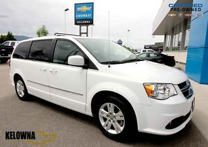 2016 Dodge Grand Caravan Crew | Heated Leather | Back-up Camera