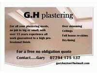 GHPLASTERING