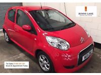 Citroen C1 VTR+ EGS Auto 1 Owner Fsh Low Mileage £20 a year tax 50+ mpg Air con alloys Immaculate
