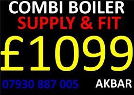 BOILER INSTALLATION, megaflo, floor standing boiler & tanks removed, GAS SAFE HEATING & Plumbing