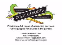 CORNISH ROOTS FOR A FULL RANGE OF GARDEN SERVICES