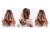 HAIR EXTENSIONS EPSOM // LA WEAVE APPLICATION // EPSOM, SURREY