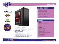 Born To Play Gaming PC - AMD Heroic