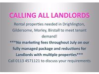 *** Landlord Offer ***