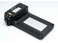 Sinar 6x12 Vario multi-format medium format zoom holder/back £145