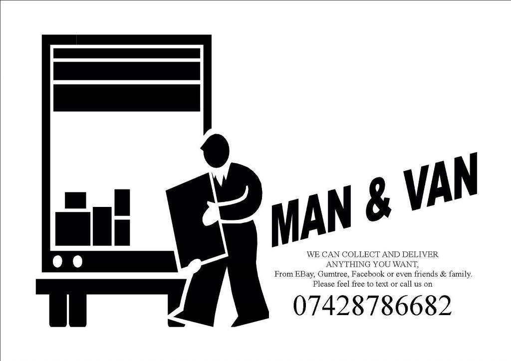 MAN & VAN DELIVERY AND COLLECTION SERVICE SOFA DELIVERYS OR FURNITURE DELIVERYS OF BUILDING