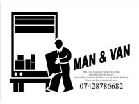 MAN & VAN DELIVERY AND COLLECTION SERVICE SOFA DELIVERYS OR FURNITURE DELIVERYS OR BUILDING