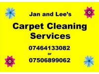 Jan and Lee's Carpet Cleaning Services
