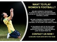 LADIES FOOTBALL TEAM - PLAYERS WANTED