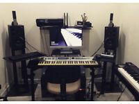 Quicklok WS-500 Modular DJ Workstation Frame