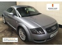 Audi TT Quattro Coupe Heated Leather Full Service History Low Recorded Mileage 3 Month Warranty